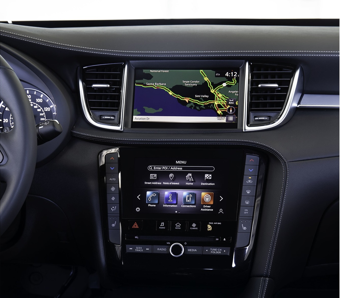 2020 Infiniti QX50 Edition 30 Central Console Wallpapers (7)