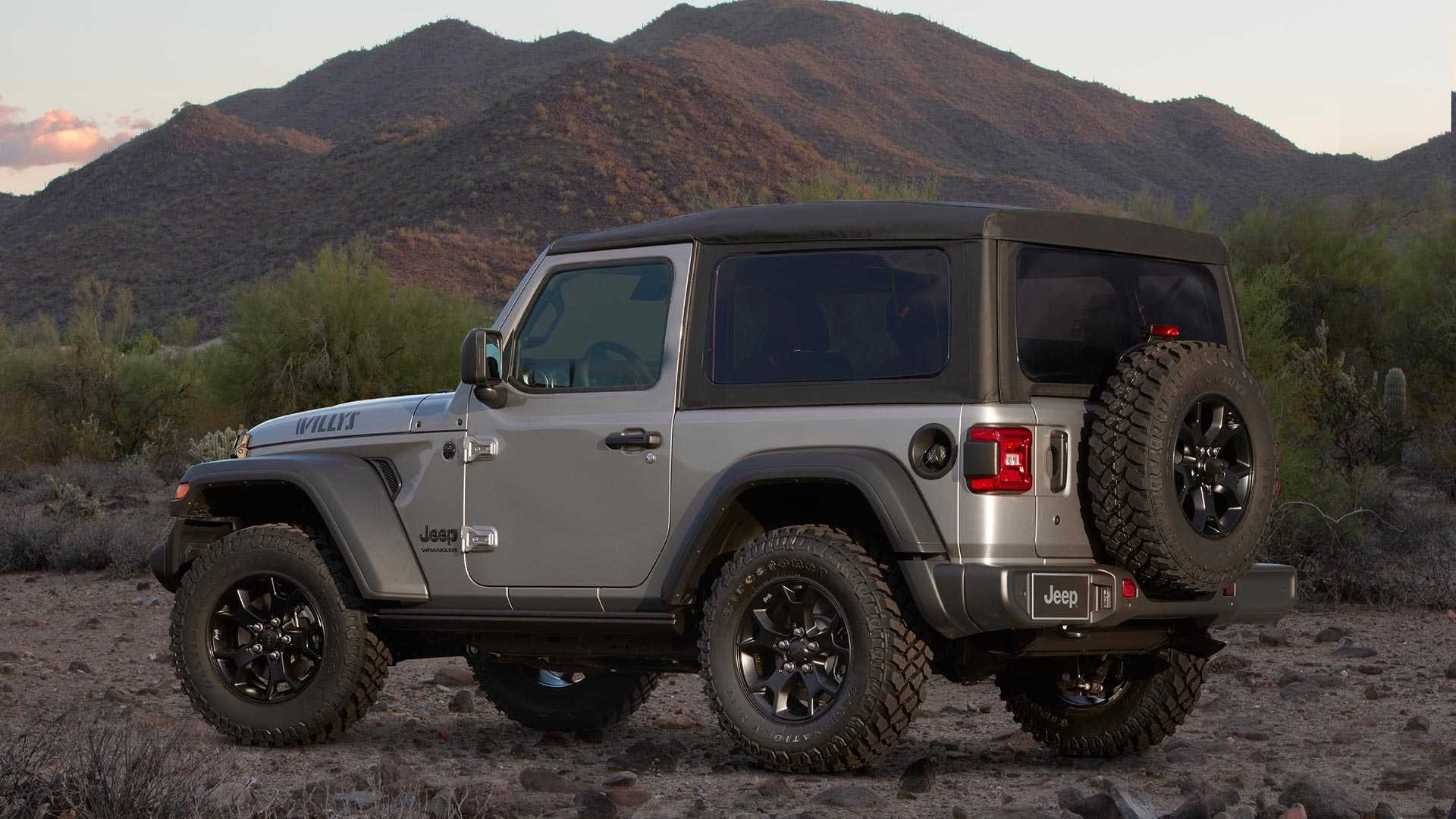 2020 Jeep Wrangler Willys Edition Rear Three-Quarter Wallpapers (3)
