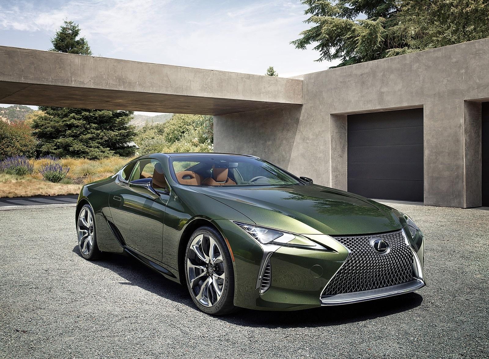 2020 Lexus LC Inspiration Series Front Three-Quarter Wallpapers (4)
