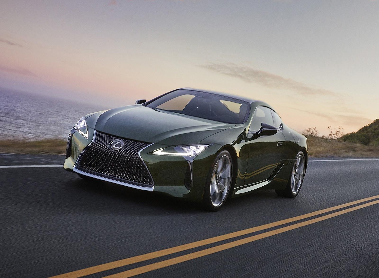 2020 Lexus LC Inspiration Series Front Three-Quarter Wallpapers (3)
