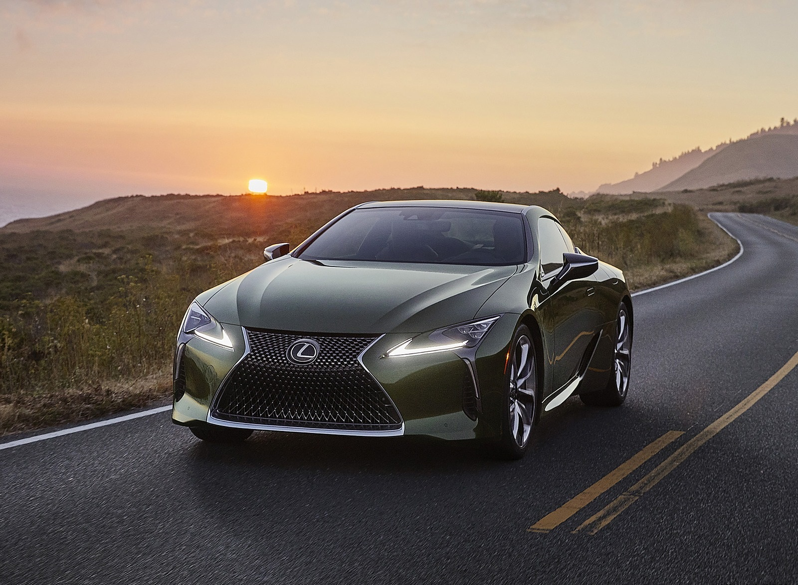 2020 Lexus LC Inspiration Series Front Wallpapers (1)