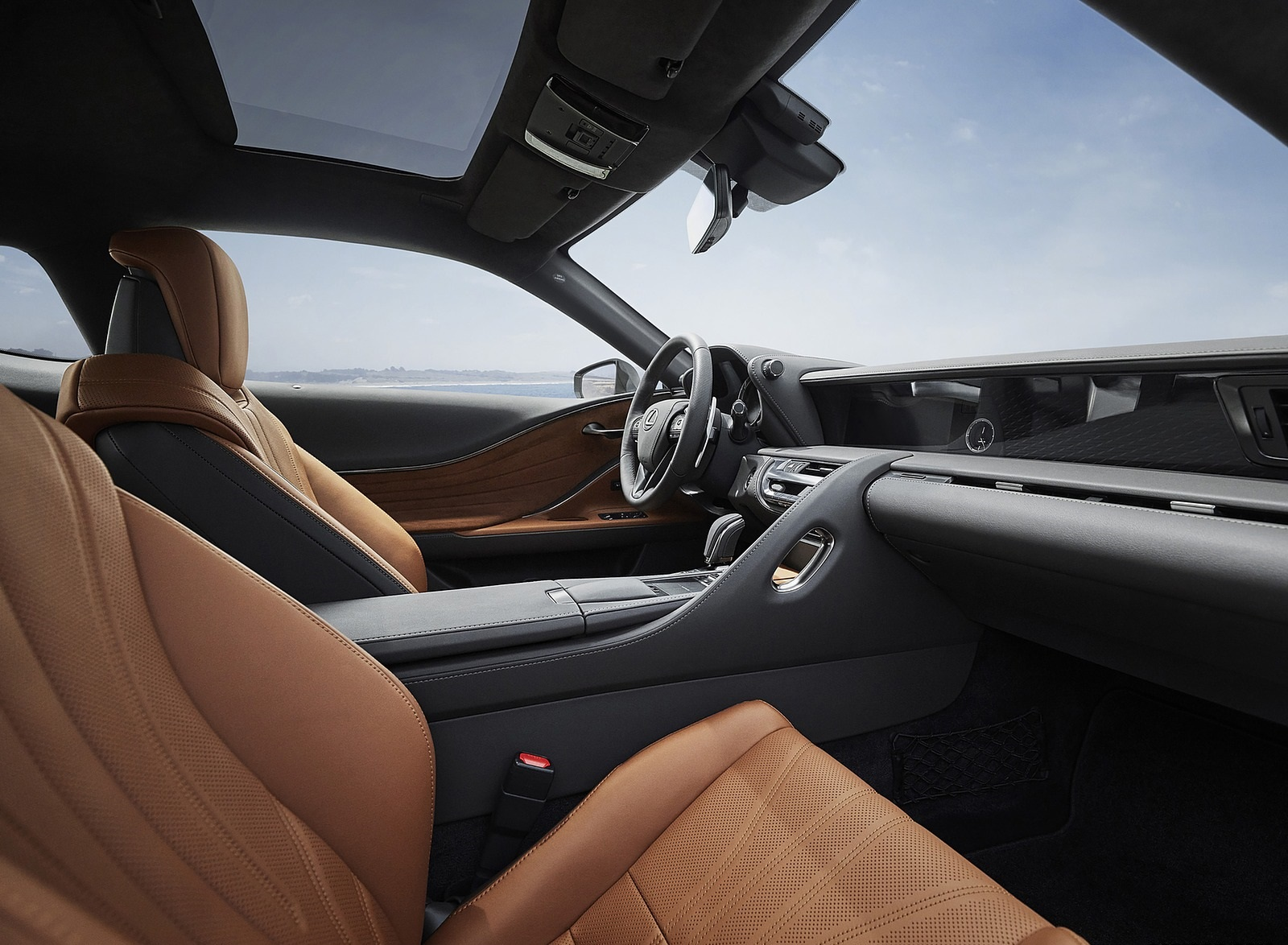 2020 Lexus LC Inspiration Series Interior Wallpapers (10)
