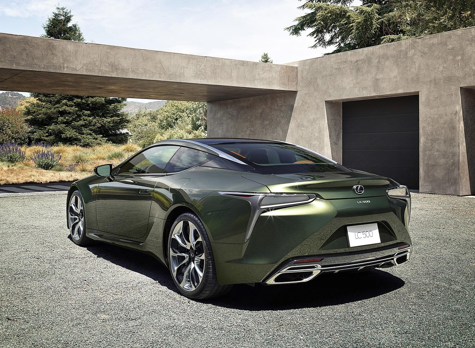 2020 Lexus LC Inspiration Series Rear Three-Quarter Wallpapers (6)