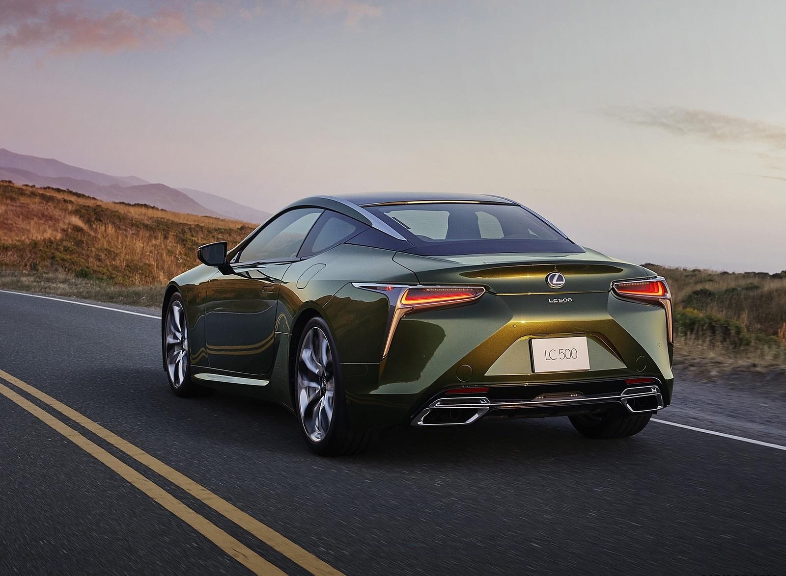 2020 Lexus LC Inspiration Series Rear Three-Quarter Wallpapers (2)