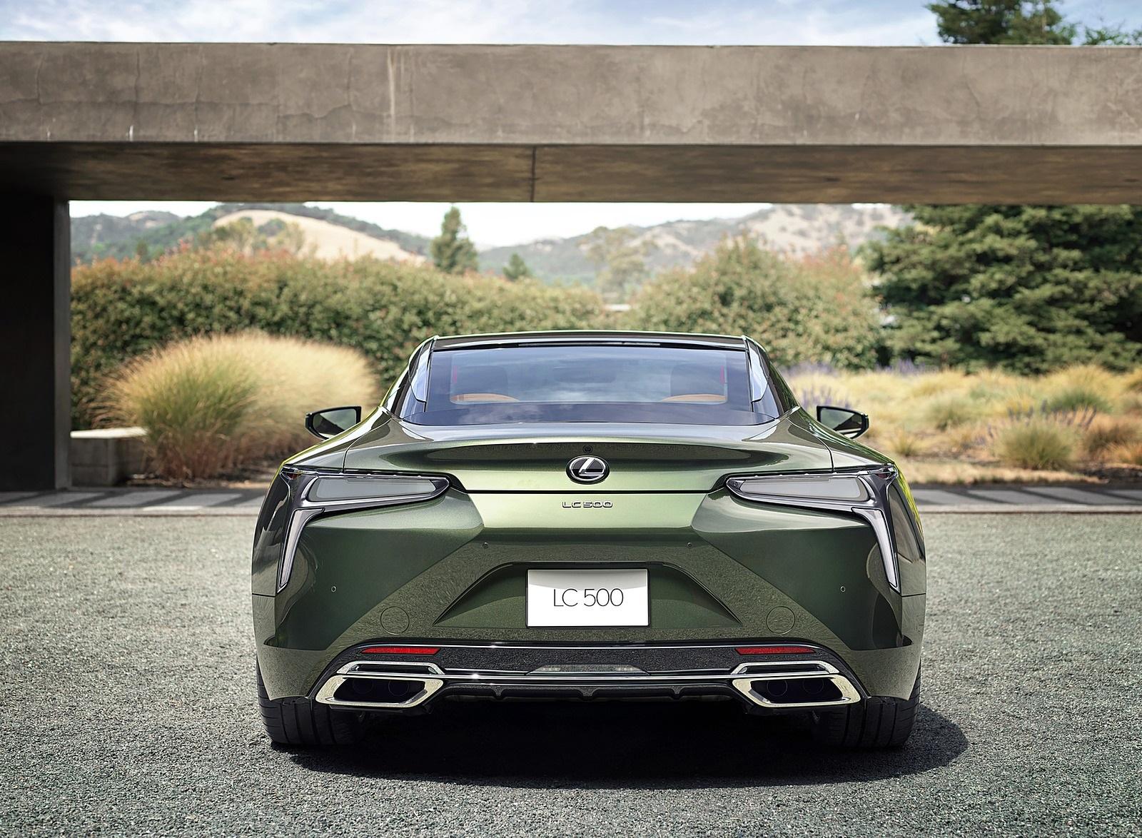 2020 Lexus LC Inspiration Series Rear Wallpapers (7)