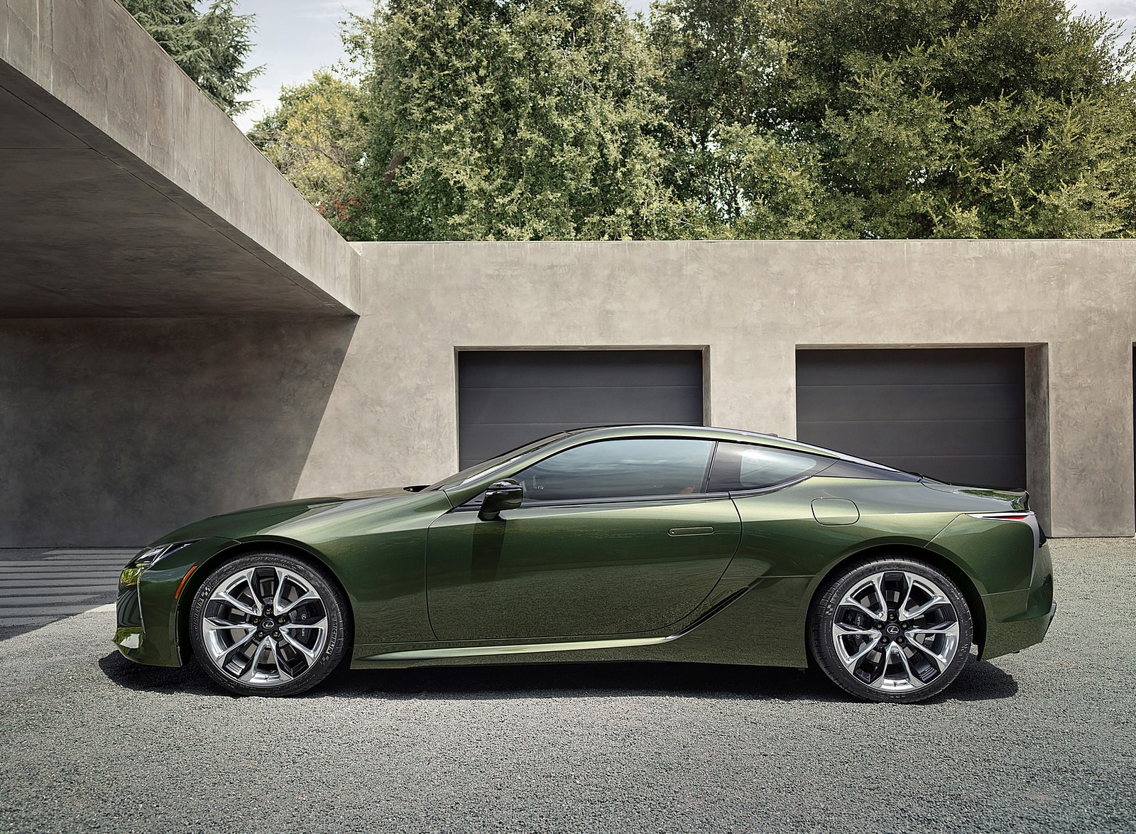 2020 Lexus LC Inspiration Series Side Wallpapers (8)