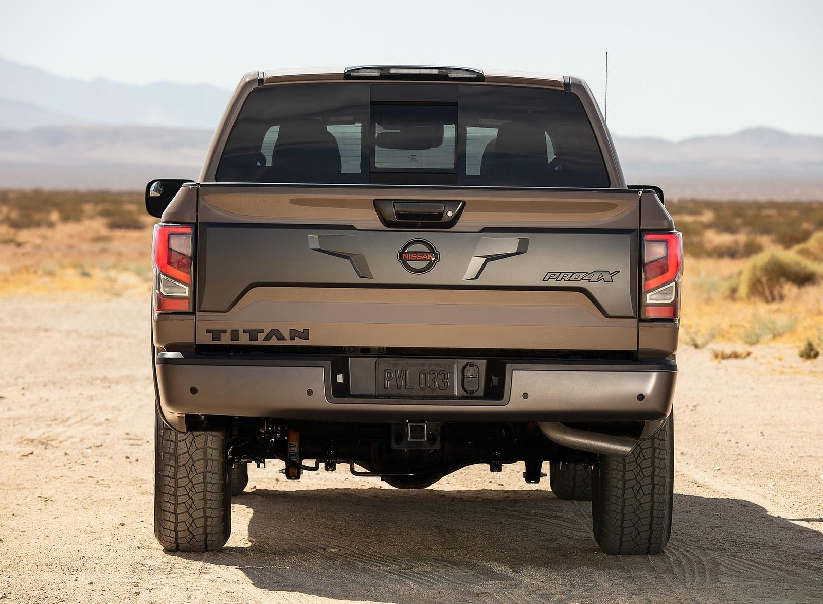 2020 Nissan TITAN PRO 4X Rear Wallpapers (6)