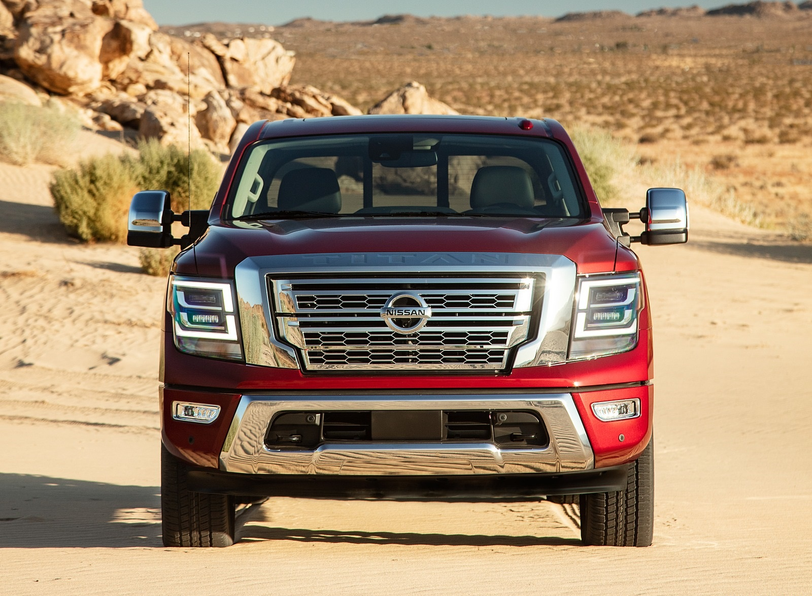 2020 Nissan TITAN SL Front Wallpapers (8)