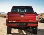 2020 Nissan TITAN SL Rear Wallpapers 150x120 (13)