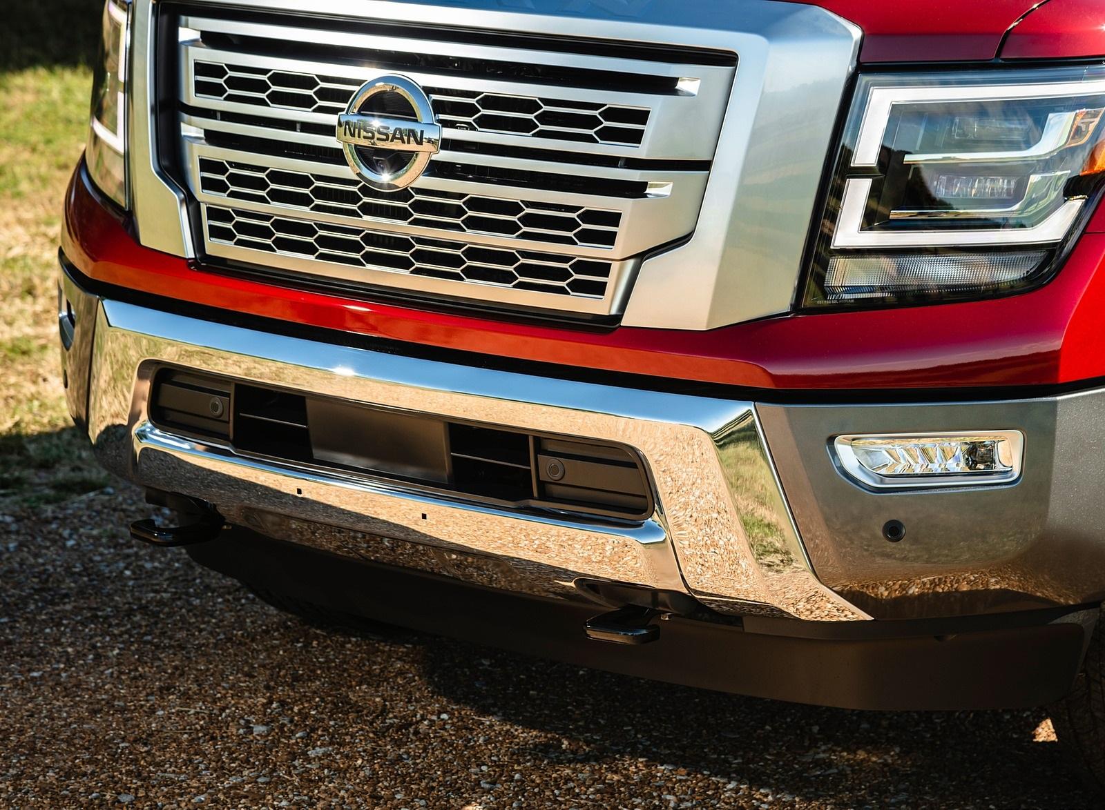 2020 Nissan TITAN XD Platinum Reserve Detail Wallpapers (10)