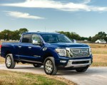 2020 Nissan TITAN XD SL Front Three-Quarter Wallpapers 150x120 (5)