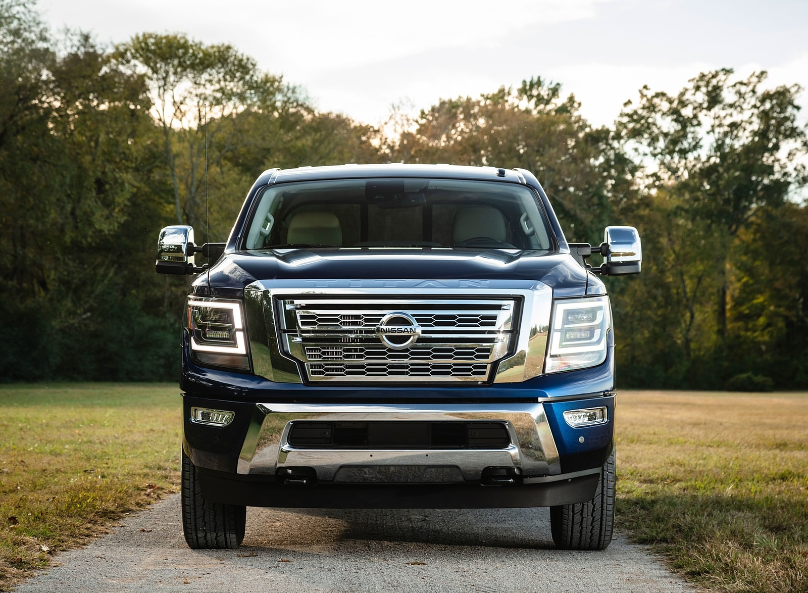 2020 Nissan TITAN XD SL Front Wallpapers (10)
