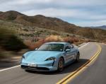 2020 Porsche Taycan 4S (Color: Frozen Blue Metallic) Front Three-Quarter Wallpapers 150x120 (37)