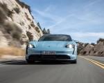 2020 Porsche Taycan 4S (Color: Frozen Blue Metallic) Front Wallpapers 150x120 (47)