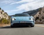 2020 Porsche Taycan 4S (Color: Frozen Blue Metallic) Front Wallpapers 150x120 (42)