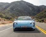 2020 Porsche Taycan 4S (Color: Frozen Blue Metallic) Front Wallpapers 150x120 (45)