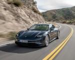2020 Porsche Taycan 4S (Color: Volcano Grey Metallic) Front Three-Quarter Wallpapers 150x120 (2)