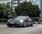 2020 Porsche Taycan 4S (Color: Volcano Grey Metallic) Front Three-Quarter Wallpapers 150x120 (13)
