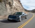 2020 Porsche Taycan 4S (Color: Volcano Grey Metallic) Front Three-Quarter Wallpapers 150x120 (3)