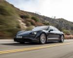 2020 Porsche Taycan 4S (Color: Volcano Grey Metallic) Front Three-Quarter Wallpapers 150x120 (14)