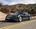 2020 Porsche Taycan 4S (Color: Volcano Grey Metallic) Front Three-Quarter Wallpapers 150x120 (15)