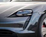 2020 Porsche Taycan 4S (Color: Volcano Grey Metallic) Headlight Wallpapers 150x120 (31)