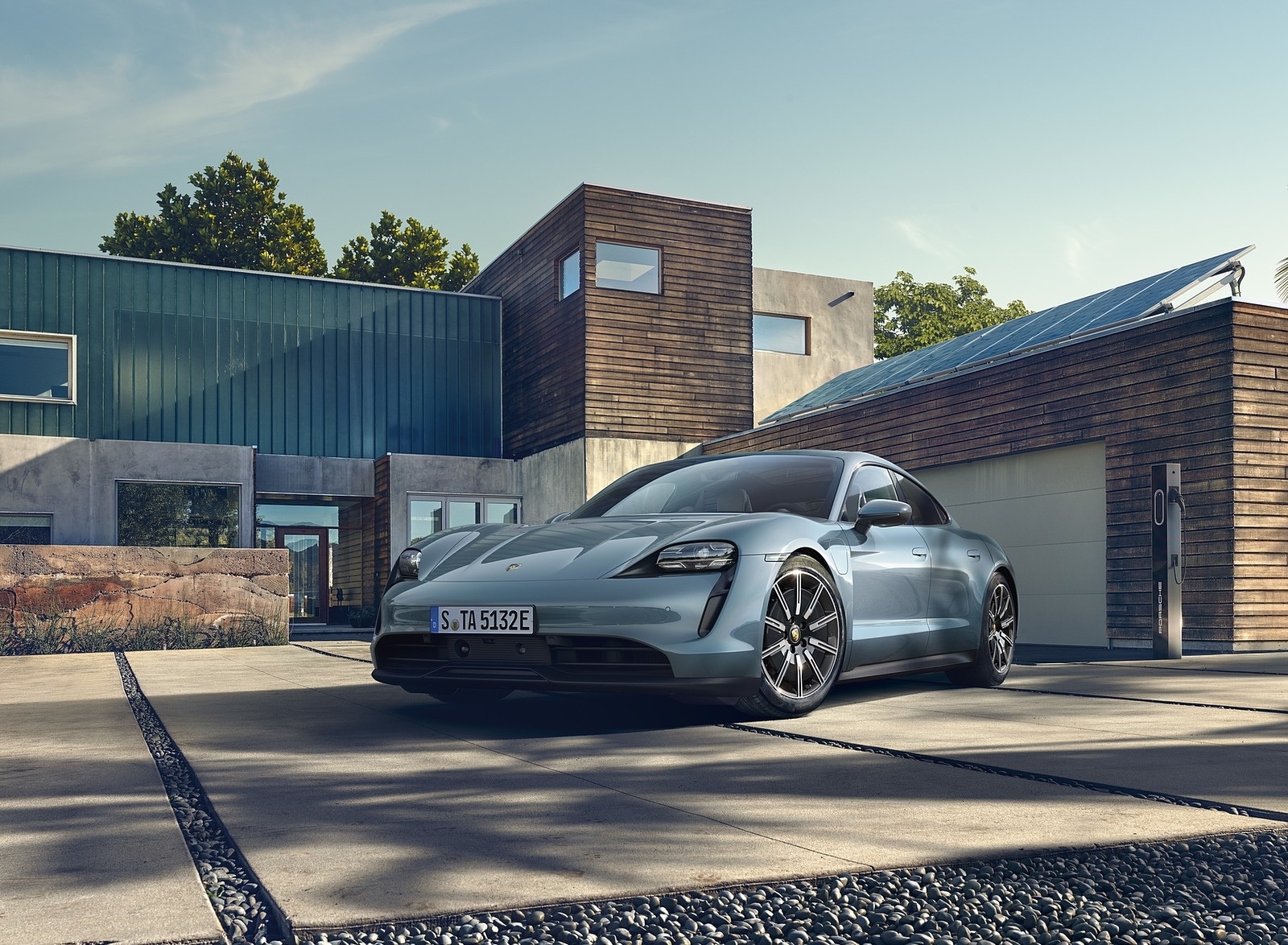 2020 Porsche Taycan 4S Front Three-Quarter Wallpapers (1)