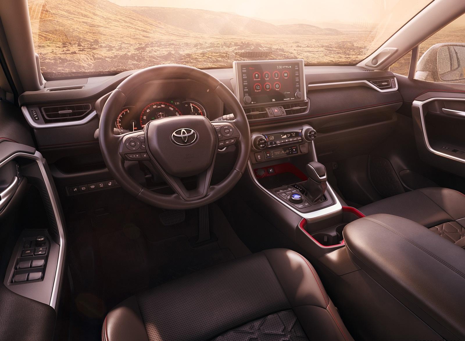 2020 Toyota RAV4 TRD Interior Cockpit Wallpapers (7)