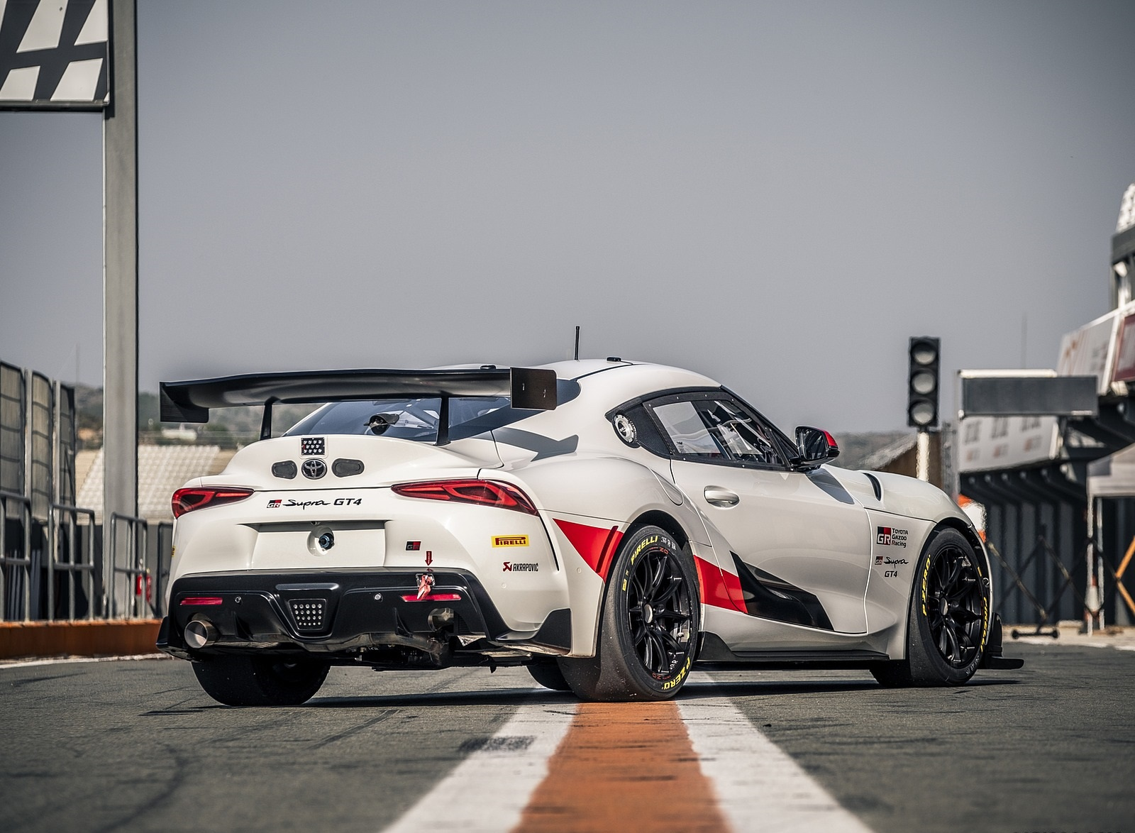 2020 Toyota Supra GT4 Rear Three-Quarter Wallpapers (8)