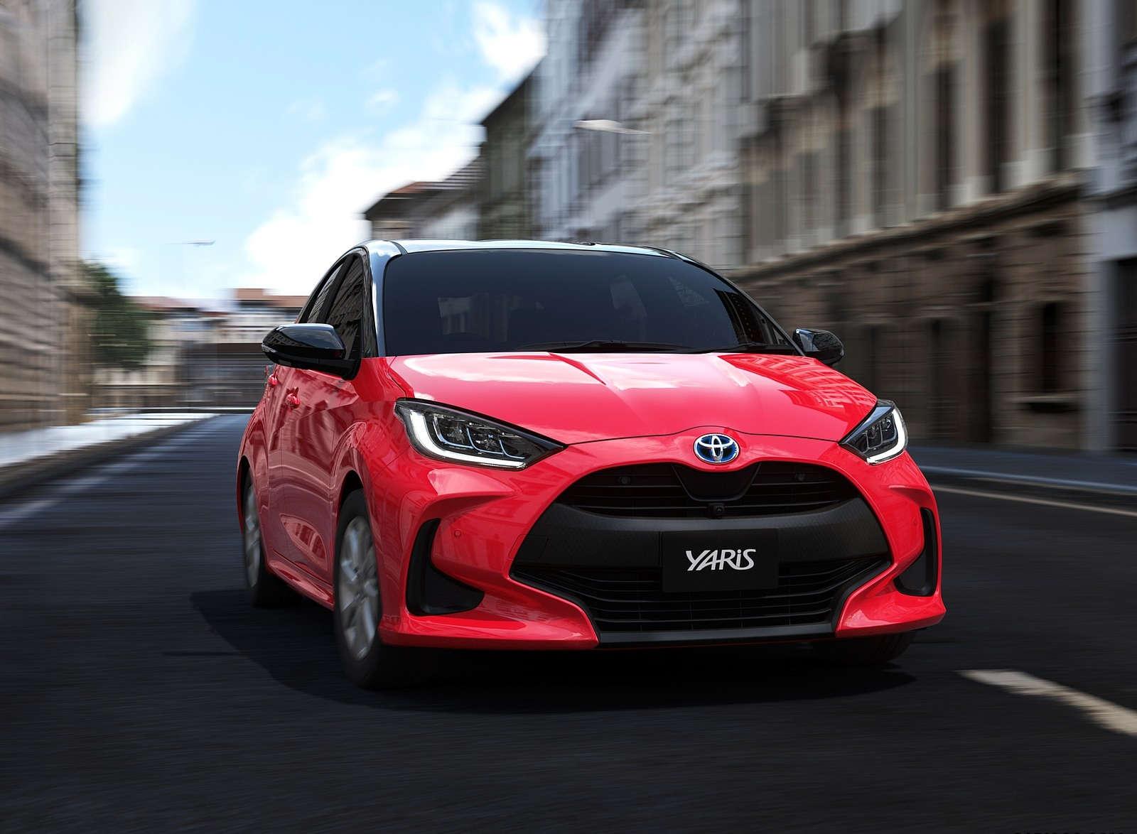 2020 Toyota Yaris Front Wallpapers (1)