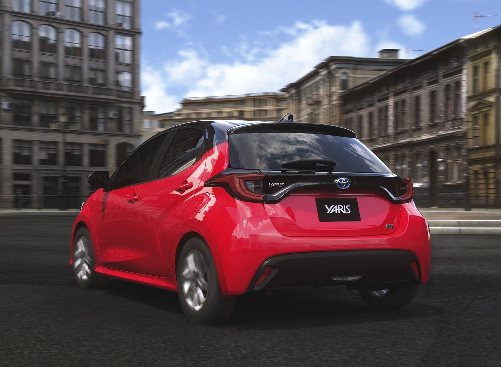 2020 Toyota Yaris Rear Three-Quarter Wallpapers (4)