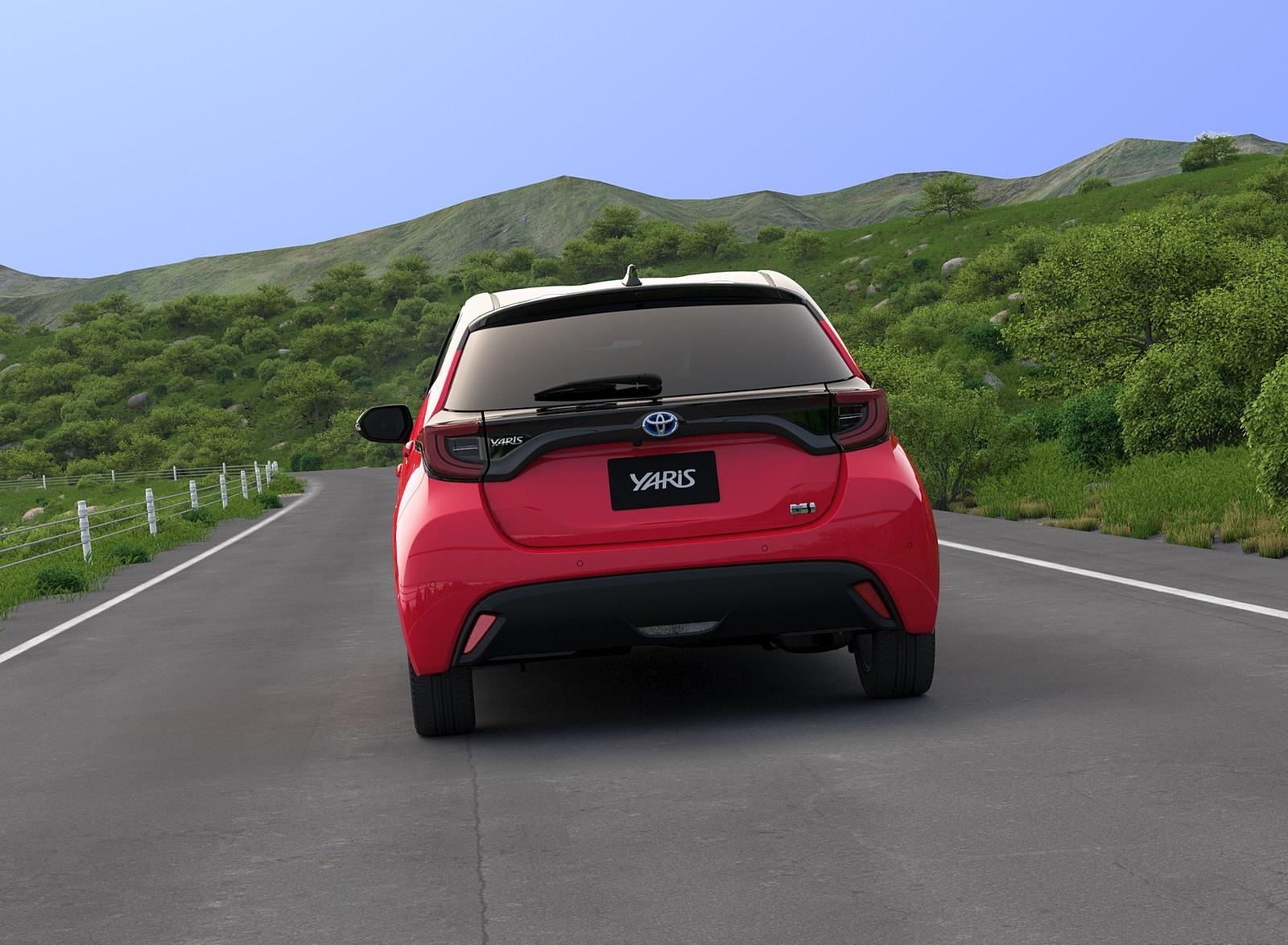2020 Toyota Yaris Rear Wallpapers (5)
