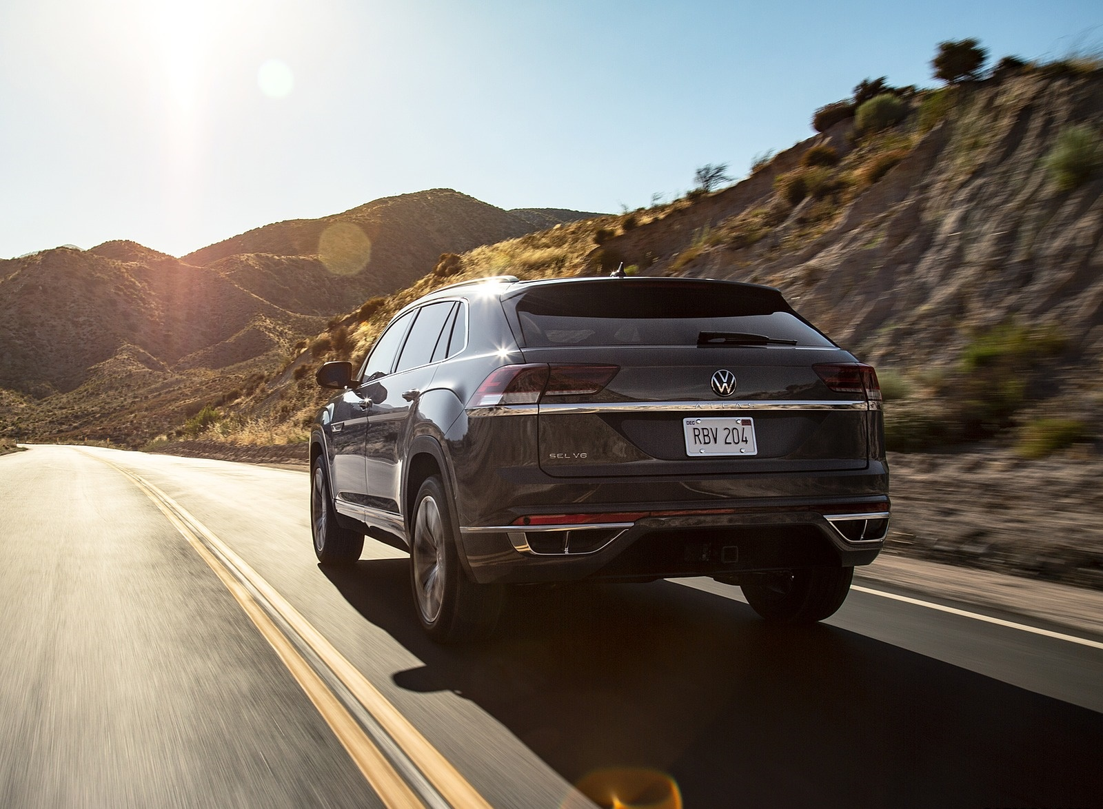 2020 Volkswagen Atlas Cross Sport Rear Wallpapers (7)