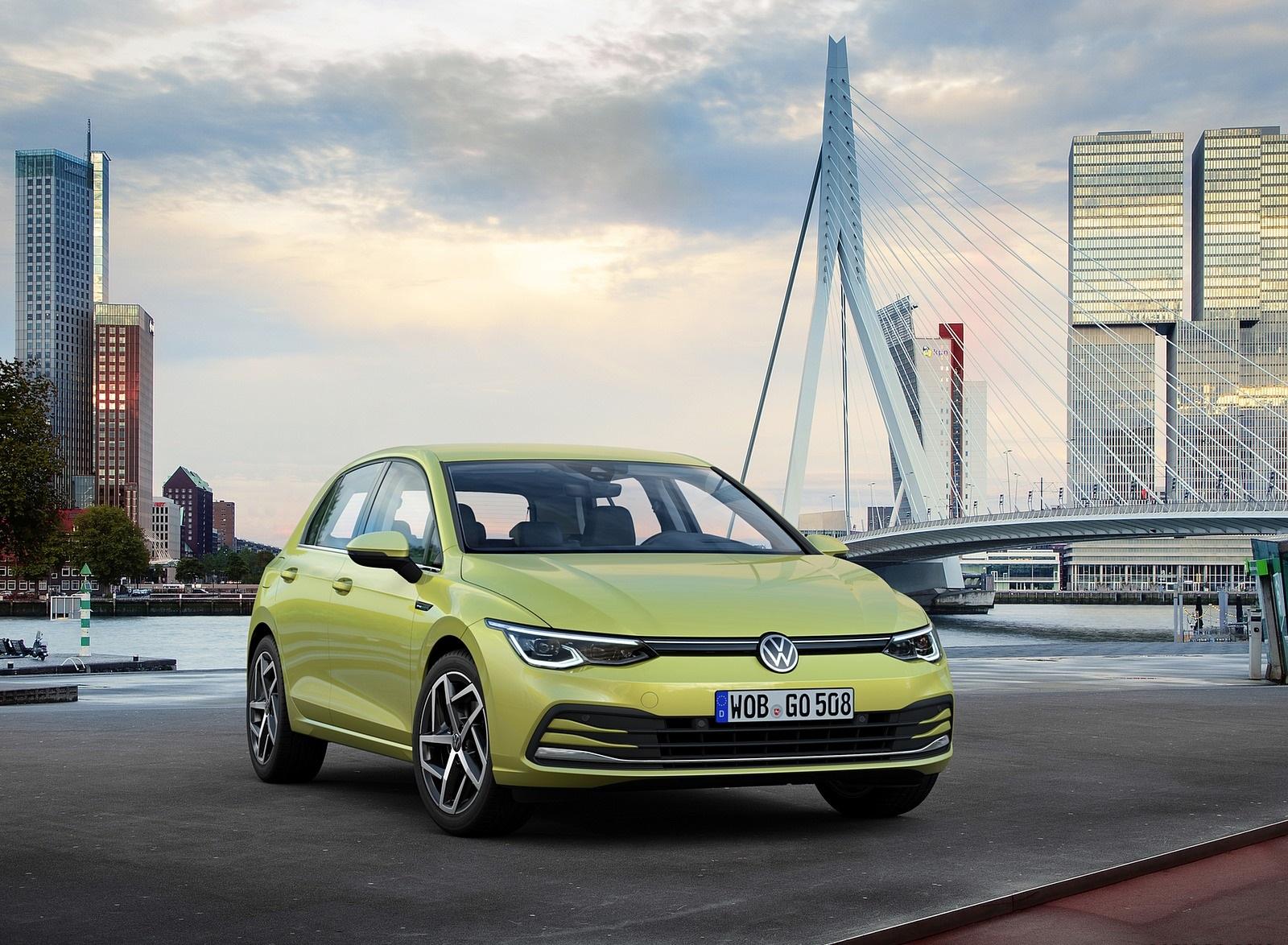 2020 Volkswagen Golf Mk8 Front Three-Quarter Wallpapers (8)