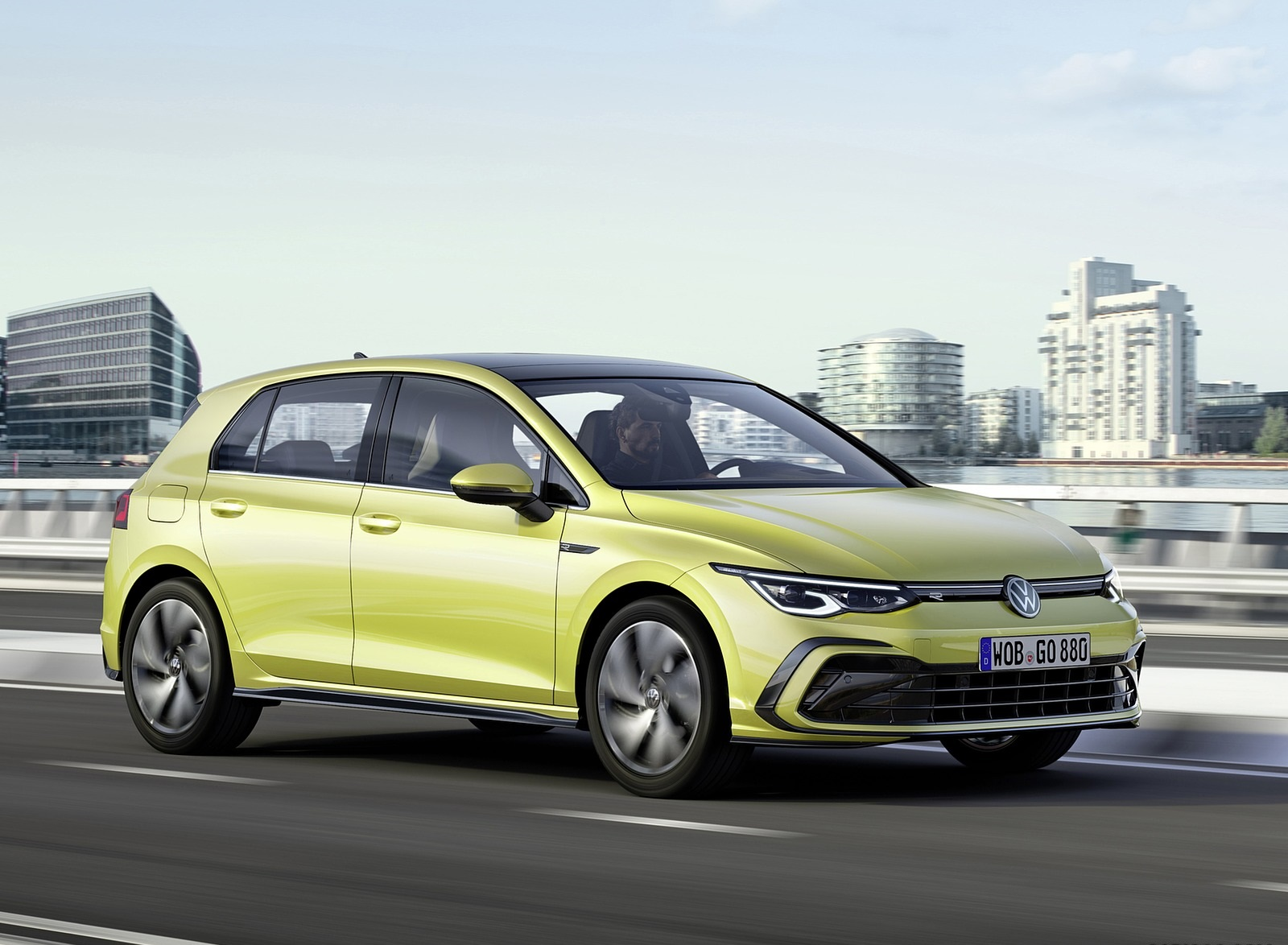 2020 Volkswagen Golf Mk8 Front Three-Quarter Wallpapers (1)