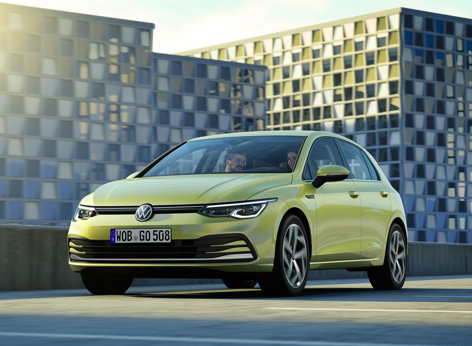 2020 Volkswagen Golf Mk8 Front Three-Quarter Wallpapers (9)
