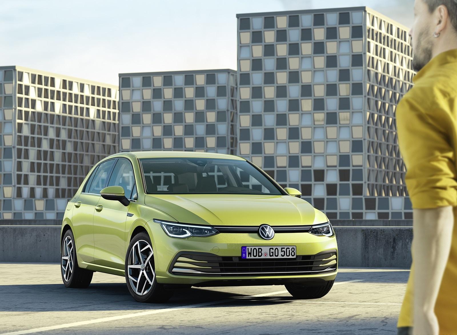 2020 Volkswagen Golf Mk8 Front Three-Quarter Wallpapers (10)