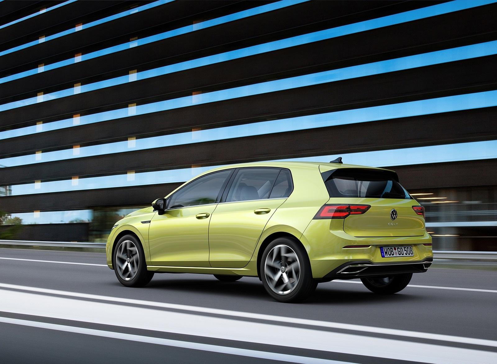 2020 Volkswagen Golf Mk8 Rear Three-Quarter Wallpapers (4)