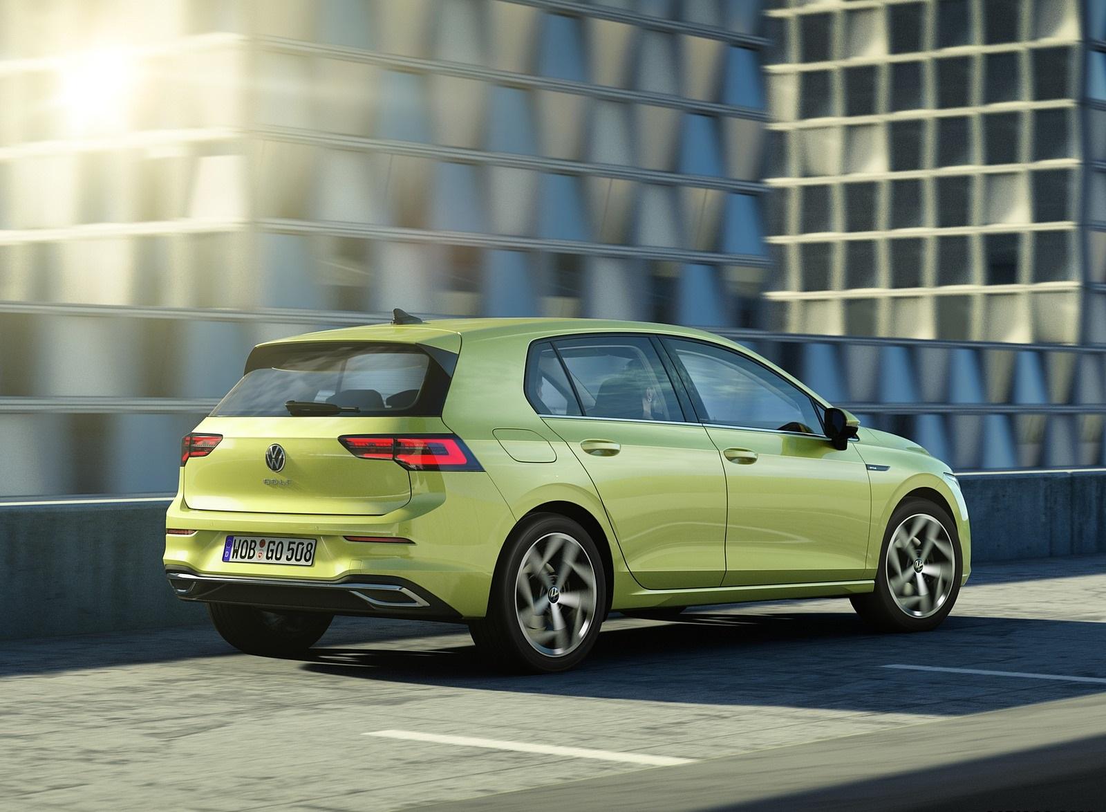 2020 Volkswagen Golf Mk8 Rear Three-Quarter Wallpapers (5)