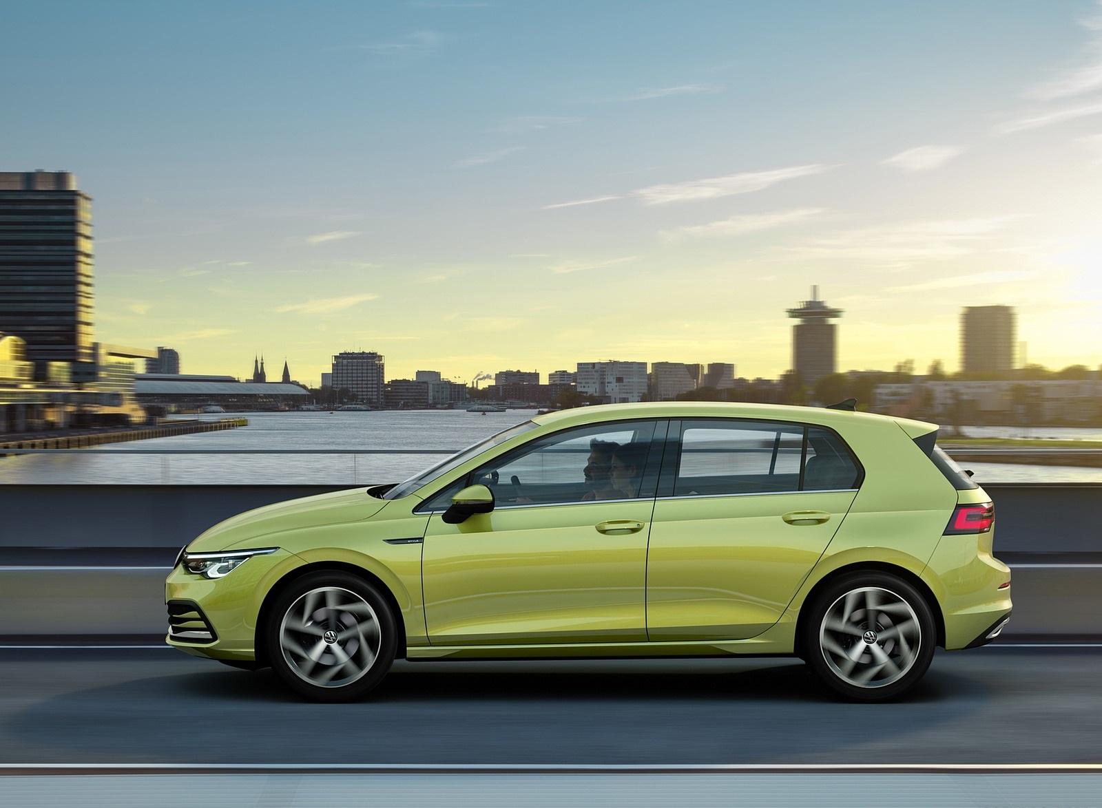 2020 Volkswagen Golf Mk8 Side Wallpapers (6)
