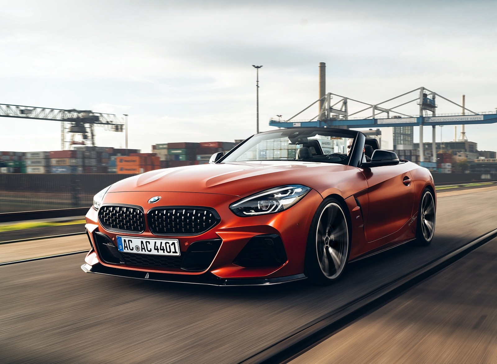 2019 AC Schnitzer BMW Z4 Front Three-Quarter Wallpapers (1)