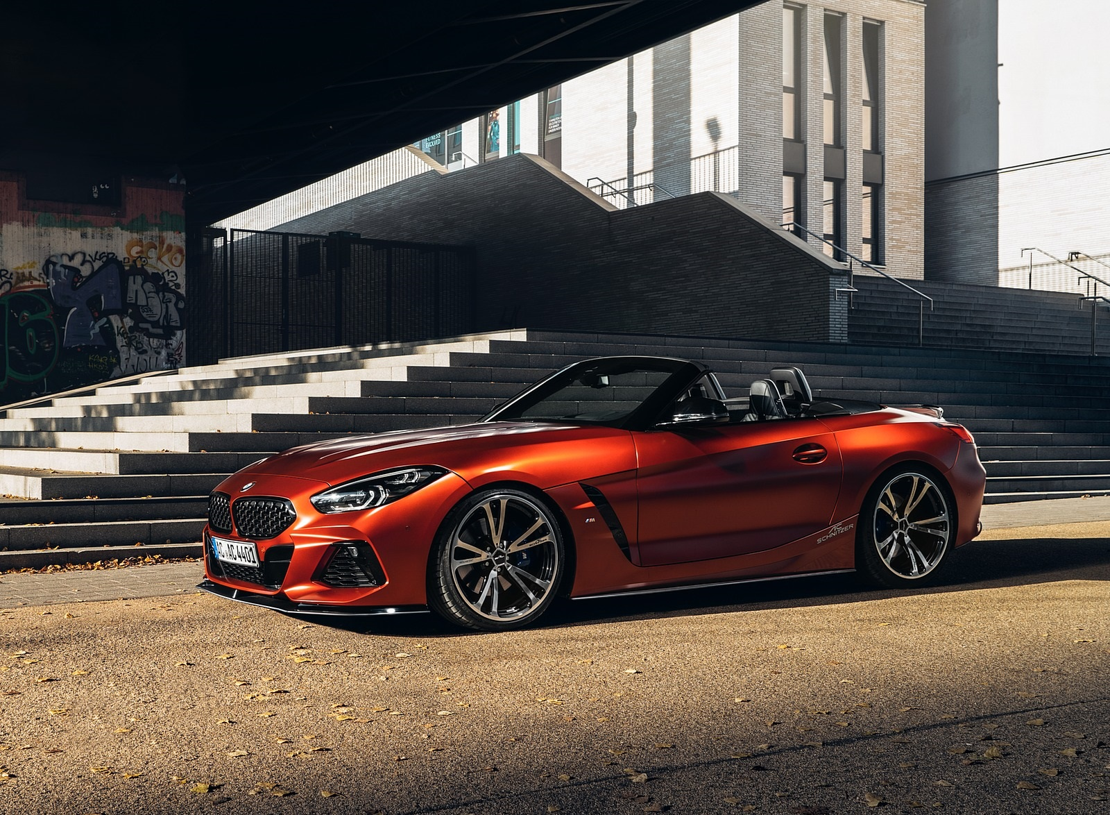 2019 AC Schnitzer BMW Z4 Front Three-Quarter Wallpapers (3)