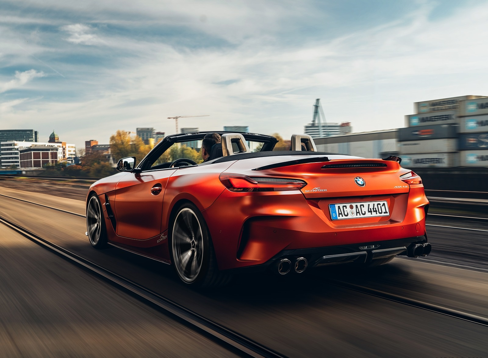 2019 AC Schnitzer BMW Z4 Rear Three-Quarter Wallpapers (2)