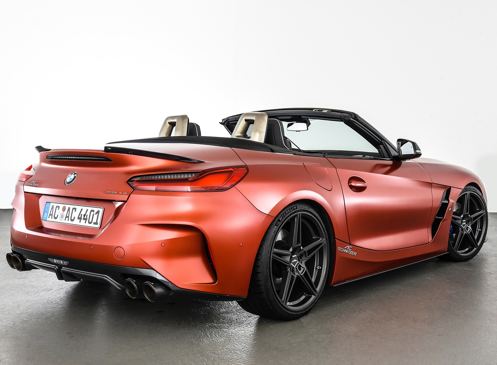 2019 AC Schnitzer BMW Z4 Rear Three-Quarter Wallpapers (9)