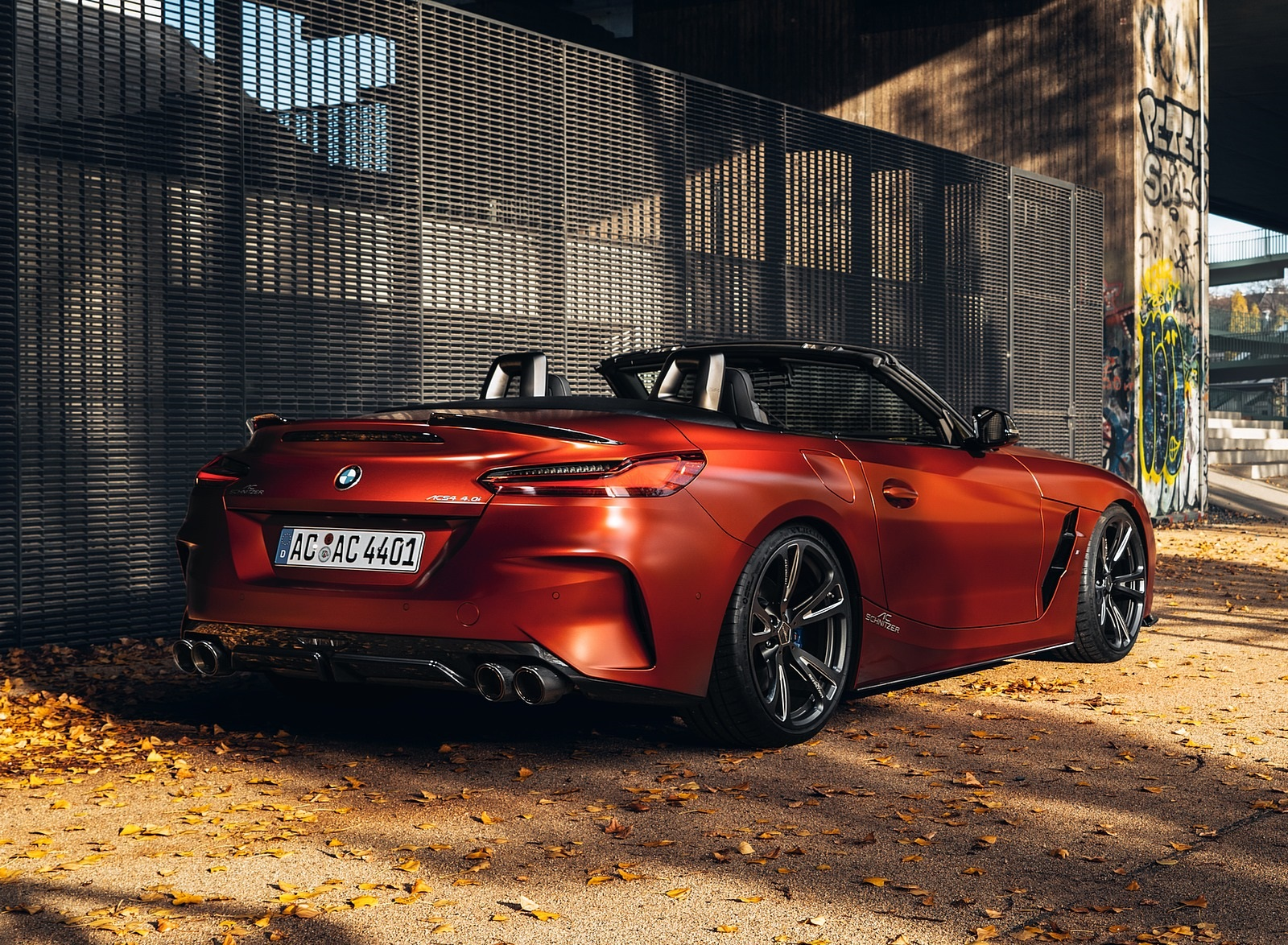 2019 AC Schnitzer BMW Z4 Rear Three-Quarter Wallpapers (4)