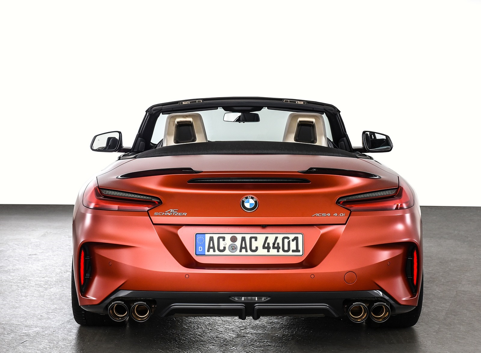 2019 AC Schnitzer BMW Z4 Rear Wallpapers (10)