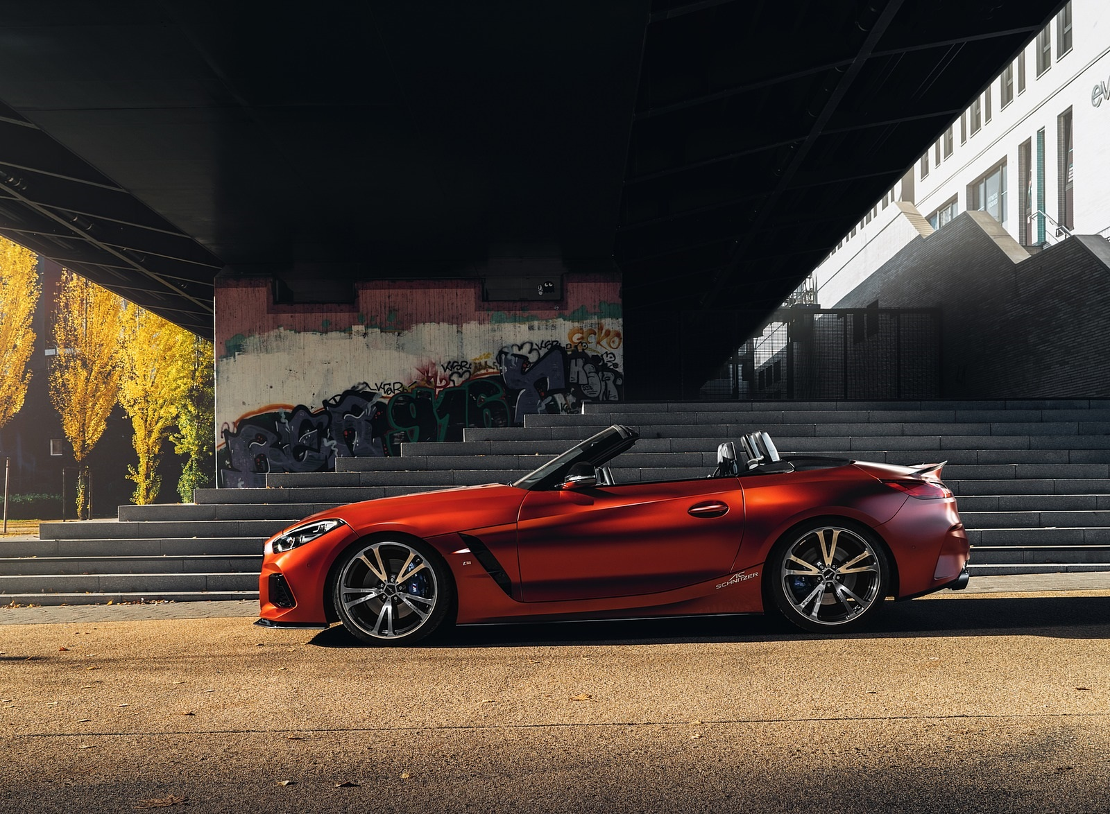 2019 AC Schnitzer BMW Z4 Side Wallpapers (5)