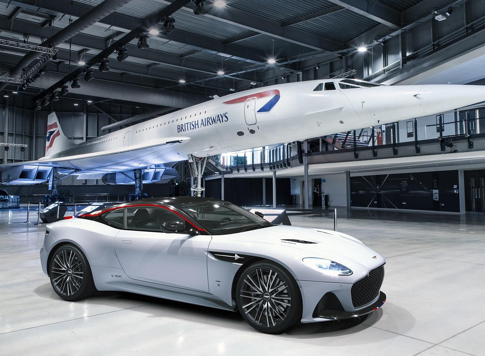 2019 Aston Martin DBS Superleggera Concorde Edition Front Three-Quarter Wallpapers (1)