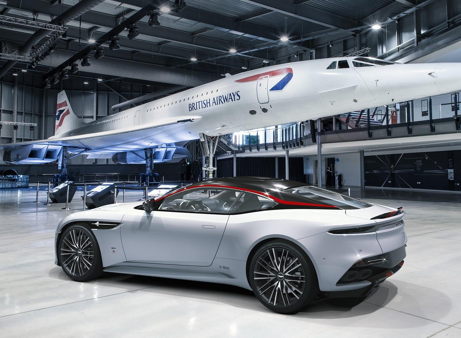 2019 Aston Martin DBS Superleggera Concorde Edition Rear Three-Quarter Wallpapers (2)