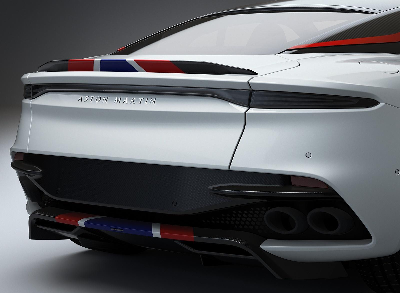 2019 Aston Martin DBS Superleggera Concorde Edition Tail Light Wallpapers (10)